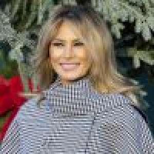 Melania Trump : Très rares sourires de la First Lady... quand Donald est absent !