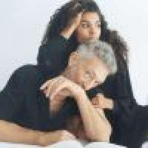 Vincent Cassel et Tina Kunakey, mots d'amour et photo souvenir à deux :