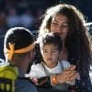 Jo-Wilfried Tsonga à Roland-Garros : son fils Sugar, supporter adorable pendant son match