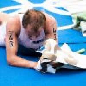 Kristian Blummenfelt évacué en fauteuil roulant : le champion olympique était à bout de force