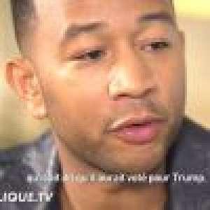 John Legend brouillé avec Kanye West à cause de Trump ? Il s'explique