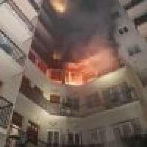Miss France : Son immeuble ravagé par un incendie, vidéo et photos terrifiantes