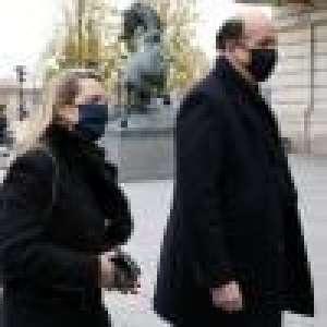 Hommage à VGE : son fils Louis Giscard d'Estaing et sa femme réunis auprès du monde politique