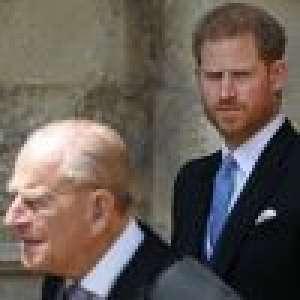 Le prince Harry aurait appris la mort de son grand-père par la police
