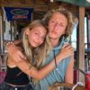 Stella Belmondo et Joalukas Noah dans les bras l'un de l'autre : les deux