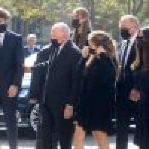 Obsèques de Florence Pinault : Salma Hayek, son mari François-Henri et les enfants soudés