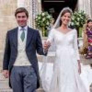 Mariage de Marie-Astrid de Liechtenstein : une princesse aux anges, une tiare magnifique