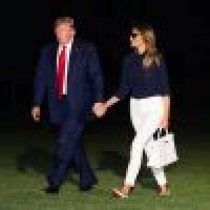 Melania Trump s'affiche avec un sac de luxe français au prix mirobolant