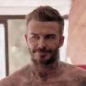 David Beckham entretient ses abdos : impressionnante séance de musculation