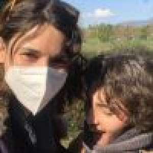 Eglantine Eméyé  : Enfin les retrouvailles avec son fils Samy, après deux mois de séparation