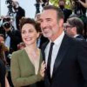 Jean Dujardin et Nathalie Péchalat main dans la main à Cannes : tendresse et robe originale