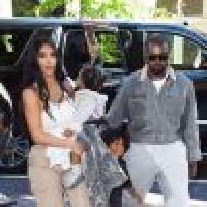 Kim Kardashian : Maman attentive avec ses enfants pour aller à la messe