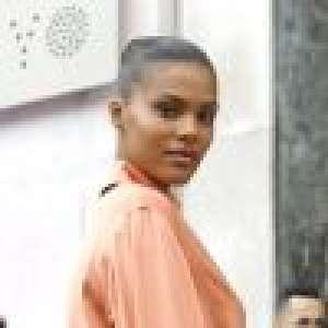 Tina Kunakey : Canon en solitaire à la Fashion Week de Paris