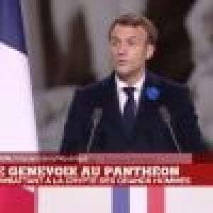 Brigitte et Emmanuel Macron soudés : émouvante cérémonie au Panthéon pour Maurice Genevoix