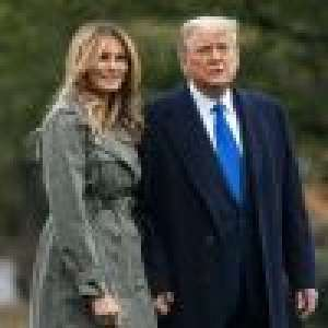 Donald Trump et Melania : Dernier portrait de Noël symbolique... en tenues assorties !