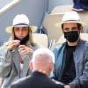 Roland-Garros : Carla Ginola, beauté masquée et amoureuse en tribunes