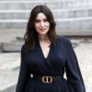 Monica Bellucci, sublime en Dior : elle retrouve Carole Bouquet pour un chic dîner à l'Elysée