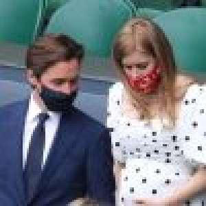 Beatrice d'York enceinte : la princesse affiche son ventre rond à Wimbledon, avec Edoardo