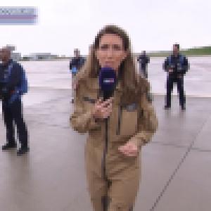 14 juillet - Anne-Claire Coudray prête à sauter en parachute : l'opération annulée, les raisons révélées