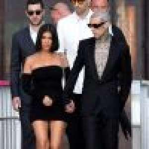 Kourtney Kardashian et Travis Barker : couple amoureux et stylé à Venise