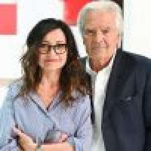 Vivement dimanche : Pierre Arditi et sa femme Evelyne Bouix complices face à Anne Roumanoff