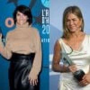 Florence Foresti remercie Jennifer Aniston d'avoir montré ses tétons