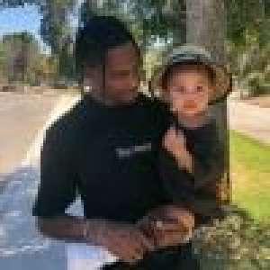 Kylie Jenner : Soirée Fortnite pour Stormi et son papa Travis Scott