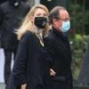 Obsèques de Juliette Gréco : François Hollande et Julie Gayet unis