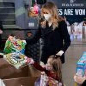 Melania Trump joue les mères Noël pour la dernière fois... et déclenche une nouvelle polémique