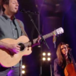 Vianney : Moment complice avec sa femme Catherine sur le plateau de The Voice