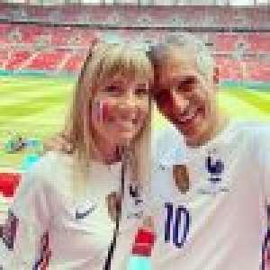 Hongrie-France (Euro 2021) : Nagui et sa femme Mélanie Page unis, comme des meilleurs potes