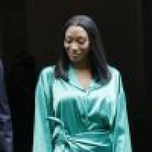Aya Nakamura soyeuse, Kanye West looké et masqué au défilé Balenciaga