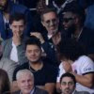 Gad Elmaleh et Yannick Noah avec leurs fils, Gaël Monfils et Elina Svitolina... À fond pour PSG - Lyon !