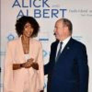 Sonia Rolland élégante et enjouée face au prince Albert de Monaco à Saint-Tropez