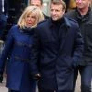 Brigitte et Emmanuel Macron main dans la main à Honfleur, parenthèse détendue