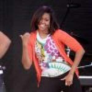 Michelle Obama : Un danseur de Christina Aguilera twerke sur elle