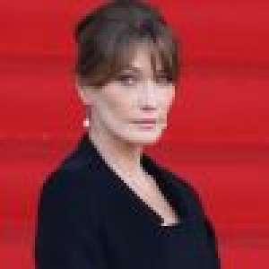 Carla Bruni-Sarkozy : Peinée, elle s'adresse à ses
