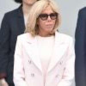 Fête nationale : Brigitte Macron en rose pastel pour un défilé à part