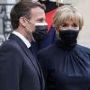 Emmanuel et Brigitte Macron : Le couple présidentiel vacciné contre la Covid-19