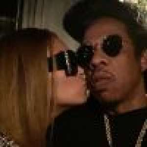 Beyoncé : Amoureuse et canon en petite robe, au bras de Jay-Z