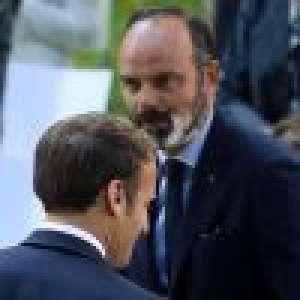 Edouard Philippe décoré en présence de sa femme et leurs enfants, retrouvailles avec Emmanuel Macron