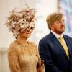 Maxima des Pays-Bas cachée par un chapeau improbable : la reine surprend son monde !