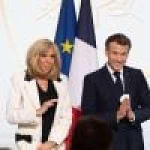 Emmanuel et Brigitte Macron complices avec Edgar Morin pour ses 100 ans !