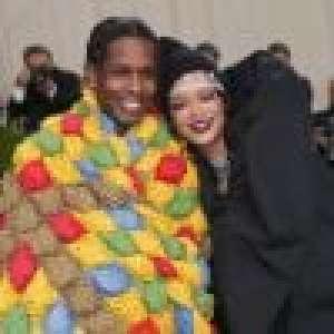 Met Gala 2021 : Rihanna en maxi doudoune, les fesses à l'air... Looks marquants au bras d'ASAP Rocky