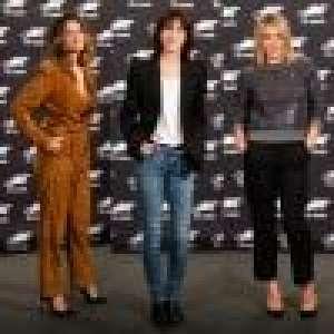 Charlotte Gainsbourg, Laetitia Casta et Ludivine Sagnier, stylées en Belgique