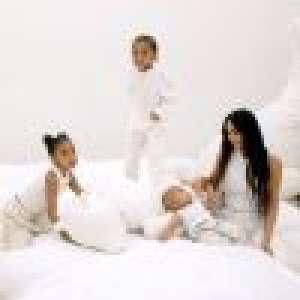 Kim Kardashian : Visite de sa villa avec Kanye West, leur fille North s'incruste