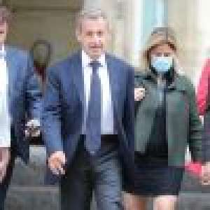 Nicolas Sarkozy : Sans masque, il affiche son soutien à Rachida Dati