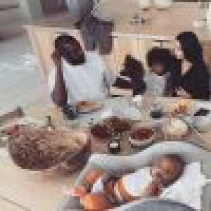 Kim Kardashian et Kanye West : vacances en famille pour
