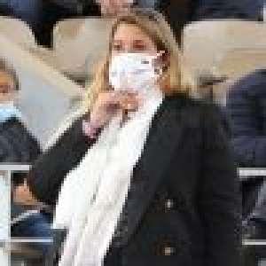 Marion Bartoli très enceinte à Roland-Garros, douce pensée pour son mari