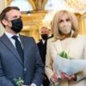 Brigitte Macron : Stylée en beige pour la traditionnelle cérémonie du muguet du 1er mai